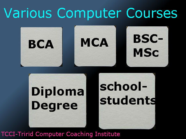 various-computer-courses